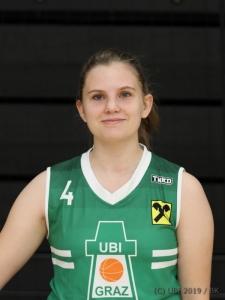 #4 Paula Hochstrasser, 12.09.19, Graz, Austria, BASKETBALL, Fotosession UBI Graz